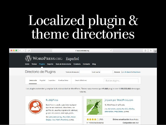 Added over 9,000 plugins in past year Plugin Directory crossed one billion downloads