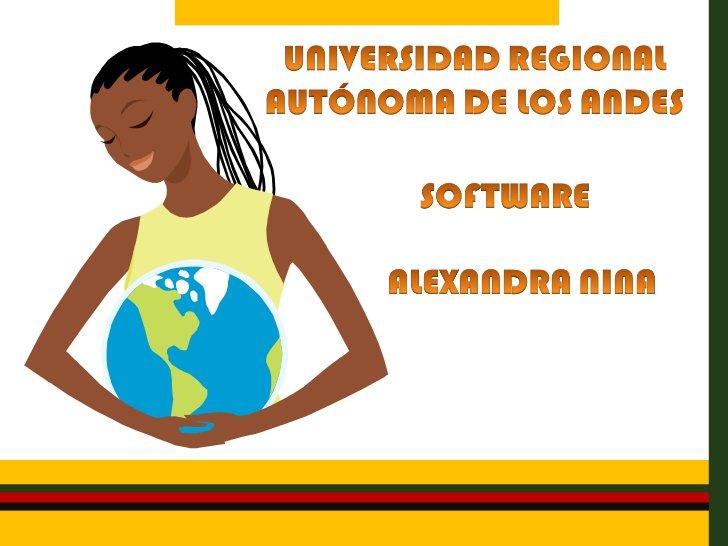 • Software es una palabra proveniente del idioma inglés  (literalmente: partes blandas o suaves). A este término suele  su...