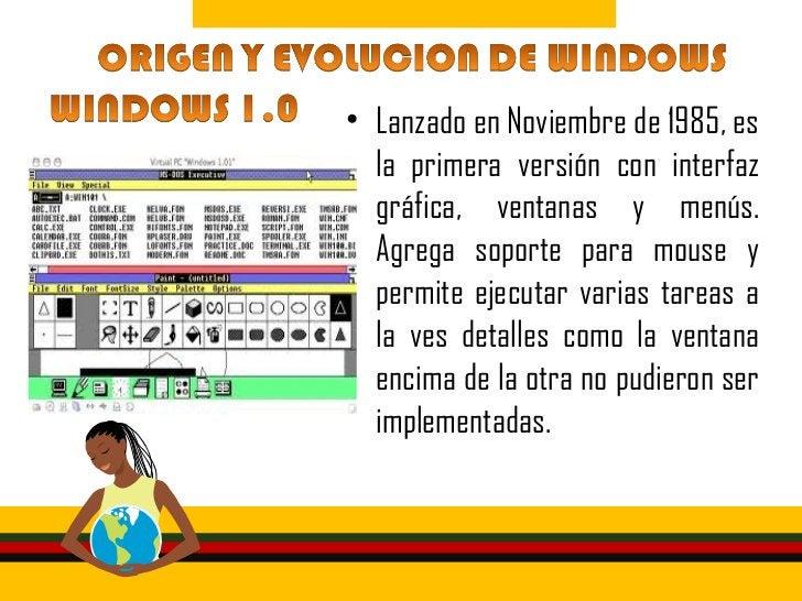 • Windows se expandió en el  mercado en 1987 con esta nueva  versión gracias a las  combinaciones de teclas para  moverse ...