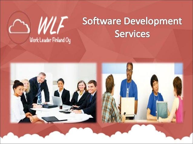 Työ johtaja Suomi Oy tarjoaa ohjelmistojen kehittämispalvelut . Tarkoituksena ohjelmistojen kehitys on tuottaa ohjelmistoj...