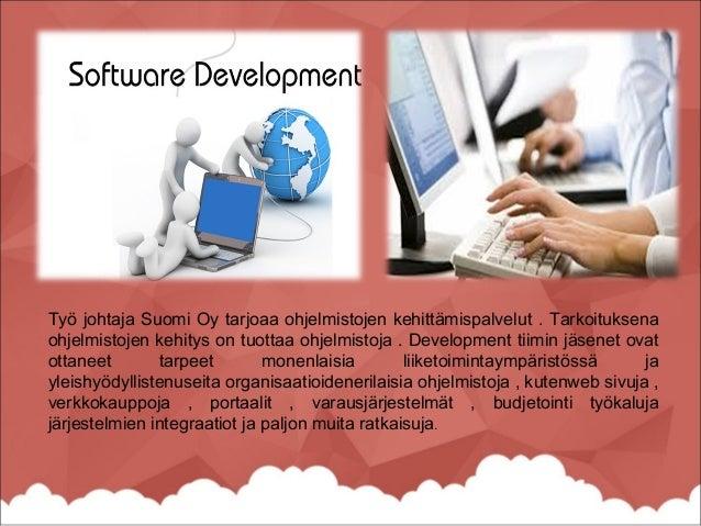 Ohjelmistokehityksen prosessin tai elinkaaren onrakenne määrätäänkehittäminen ohjelmisto. Software Development Life Cycle ...