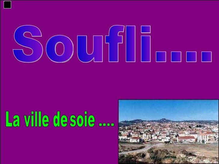 Soufli.... La ville de soie ....