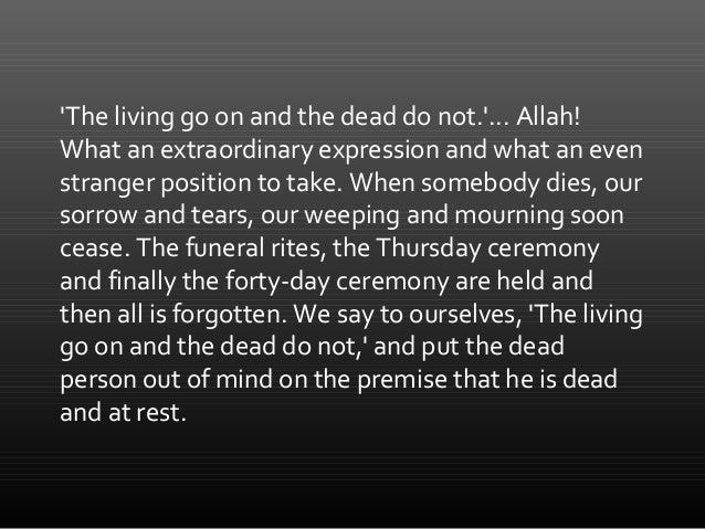 THE SOUL'S JOURNEY AFTER DEATH - 1 Slide 3