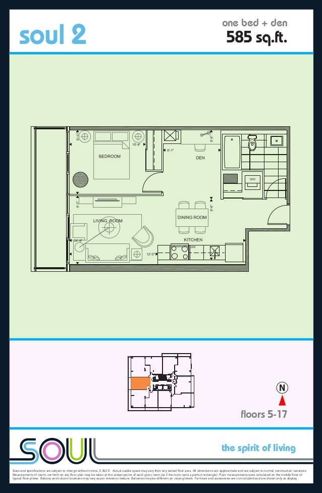 the spirit of living Sizes and specifications are subject to change without notice, E.&O.E. Actual usable space may vary fr...
