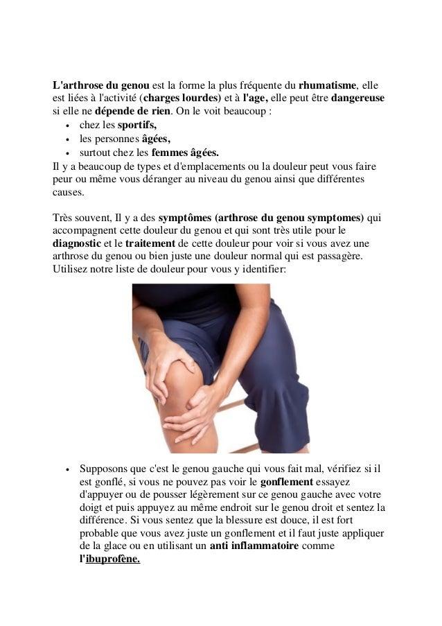 Soulager votre douleur du genou dans 2 jours