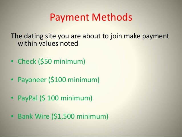 How Dating Sites Make Their Money