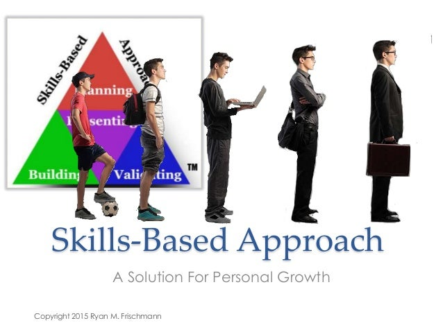 Skills-Based Approach A Solution For Personal Growth Copyright 2015 Ryan M. Frischmann
