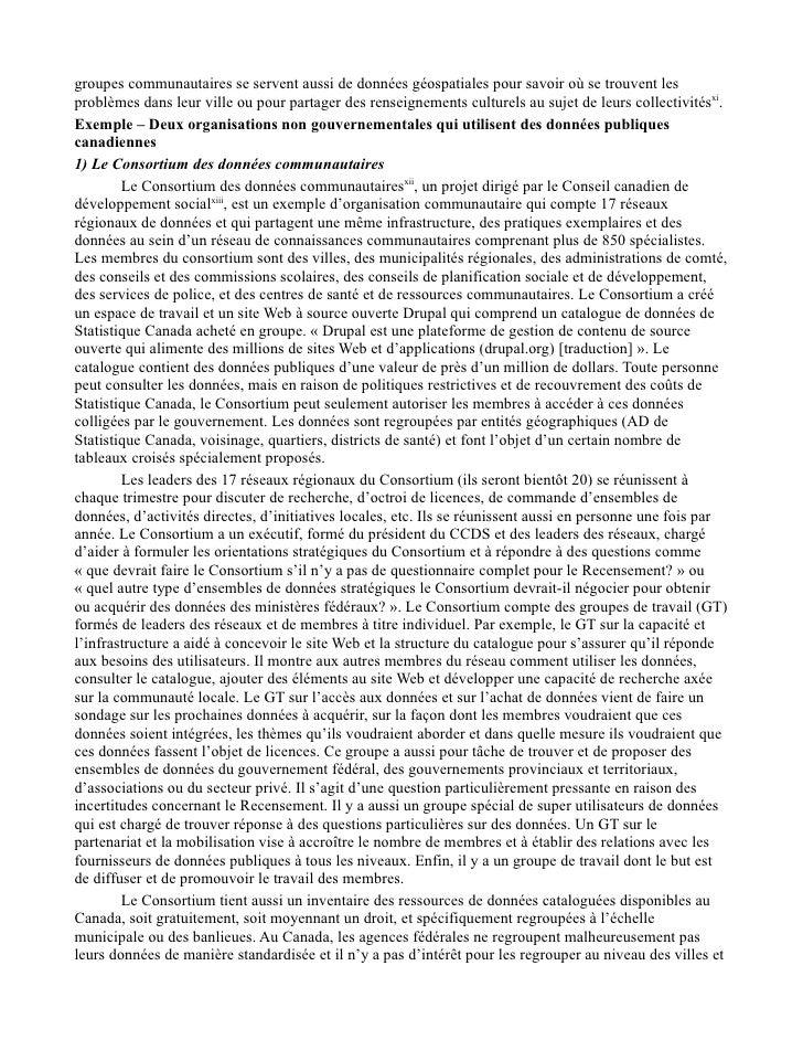 Étude sur la transparence du gouvernement Point de vue tiré de travaux de recherche communautaires et universitaires Slide 2