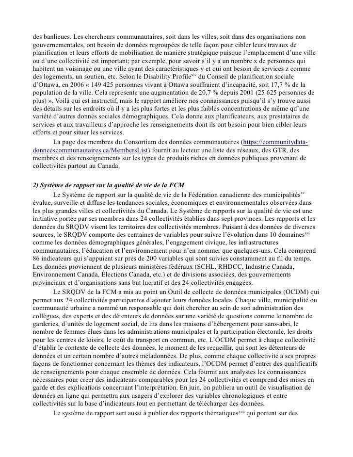 Étude sur la transparence du gouvernement Point de vue tiré de travaux de recherche communautaires et universitaires Slide 3