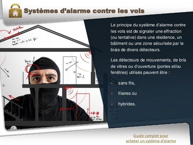 Guide complet pour acheter son syst me d 39 alarme for Systeme d alarme pour garage