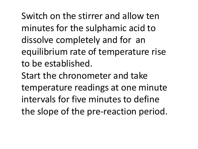 determination of heat of solution Institute of lifelong learning, university of delhi 1 experiment -3 aim: determination of integral enthalpy of solution of potassium nitrate in 1:200 molar ratio learning objectives after performing this experiment student will be able to • define integral and differential enthalpies of solution and make a distinction.