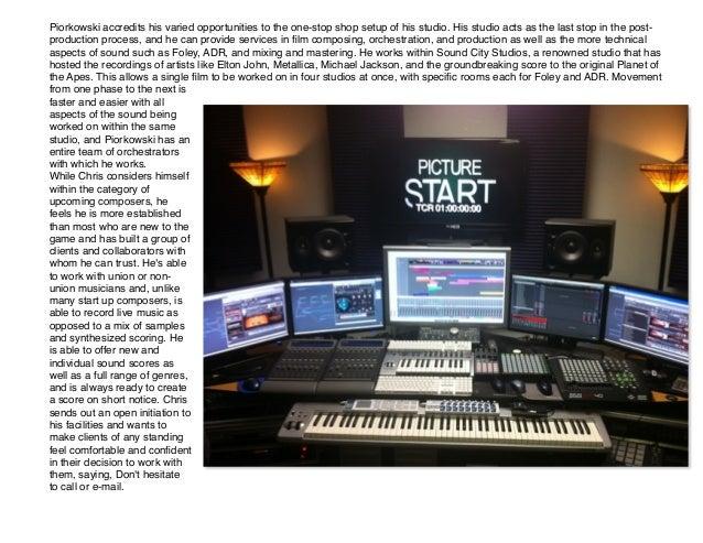 Sound City Studios info contact brochure – Studio Brochure