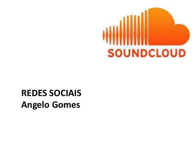 REDES SOCIAISAngelo Gomes