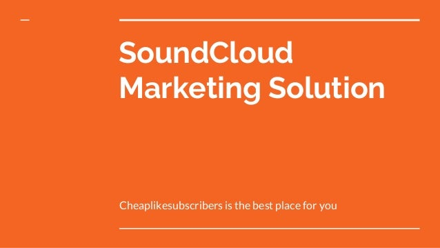 Buy SoundCloud Followers Plays Likes Reposts Comments at