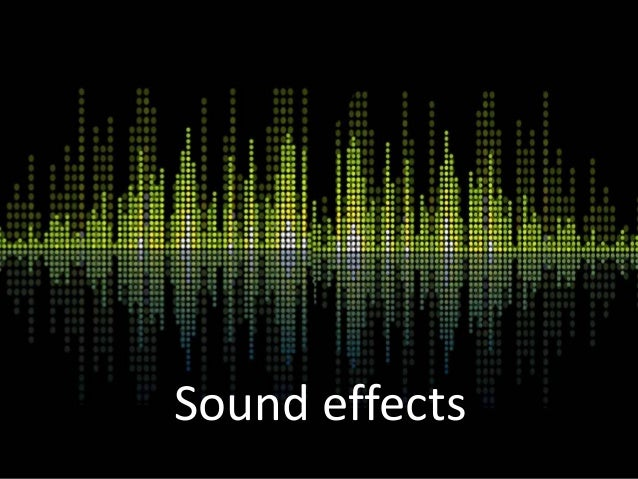 Sound Effects Distortion