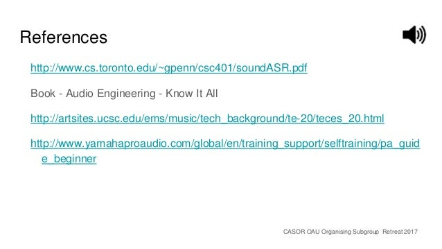 Audio Engineering Know It All Pdf