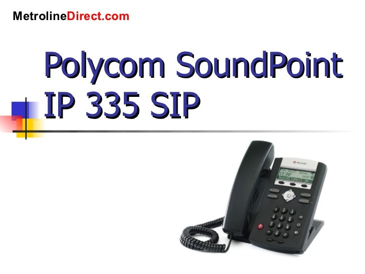 polycom soundpoint ip 321 manual