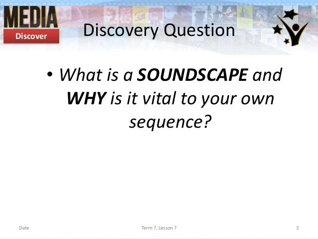 The Study of Soundscape { COST Training School 2012 on ...