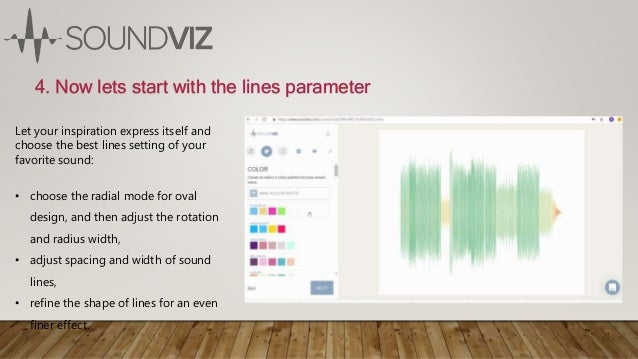 4. Now lets start with the lines parameter Let your inspiration express itself and choose the best lines setting of your f...