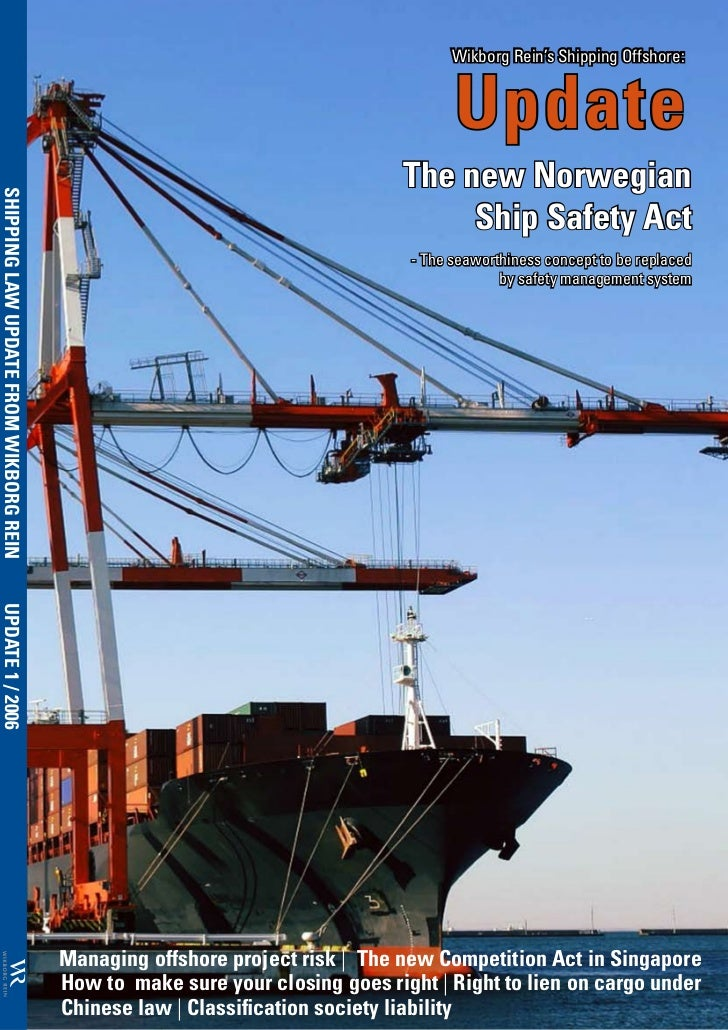 Wikborg Rein's Shipping Offshore:                                                                                    Updat...