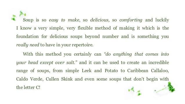 Genius Recipe for Homemade Soup Slide 3