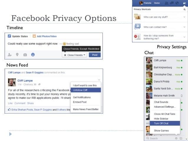 Profiling Facebook Users' Privacy Behaviors Slide 3