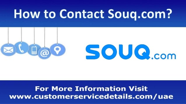 Souq com Customer Care Number, Head Office Address, Email ID, Website