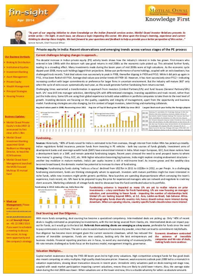 Our Business Verticals:  Broking & Distribution  Institutional Equities  Investment Banking  Asset Management  Privat...