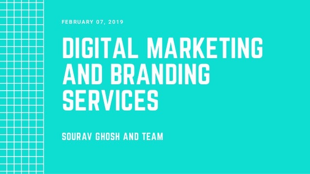 Digital Marketing & Branding Services by Sourav Ghosh & Team
