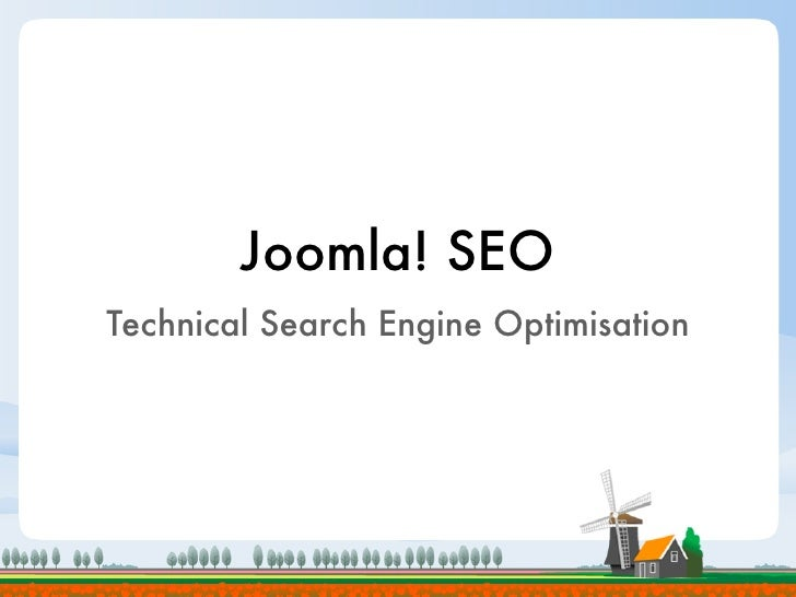 Joomla Technical SEO