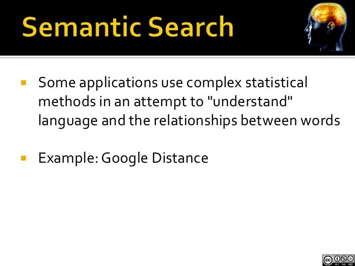 """   Some applications use complex statistical    methods in an attempt to """"understand""""    language and the relationships b..."""