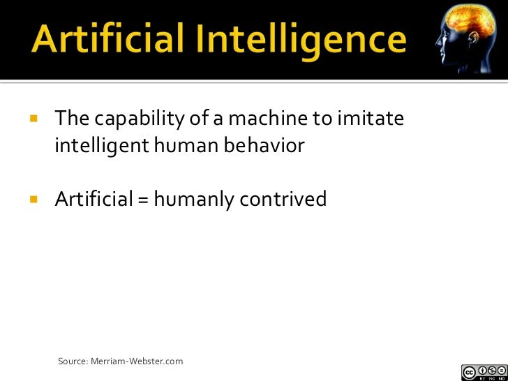 """   """"…pattern recognition and common sense are    the two most difficult, unsolved problems in    artificial intelligence ..."""