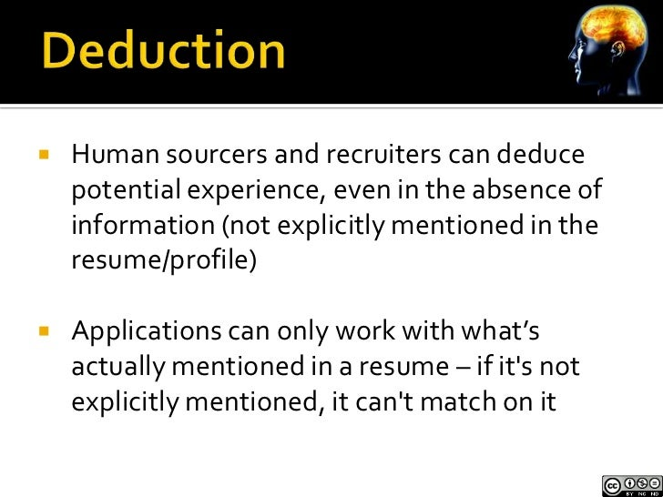 How can you target resumes and LinkedIn profiles that exist, but  your searches can't and don't         retrieve them?