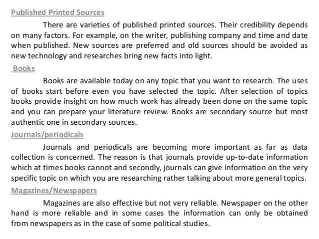 Name some online reliable sources for writing research papers?