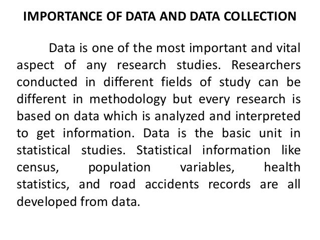 research paper sources of data
