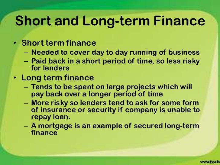 Short term financial stress essay