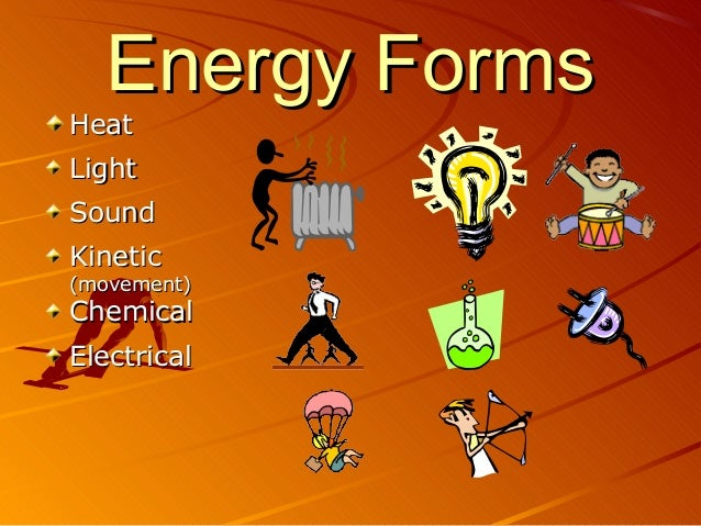 Energy Forms Heat Light