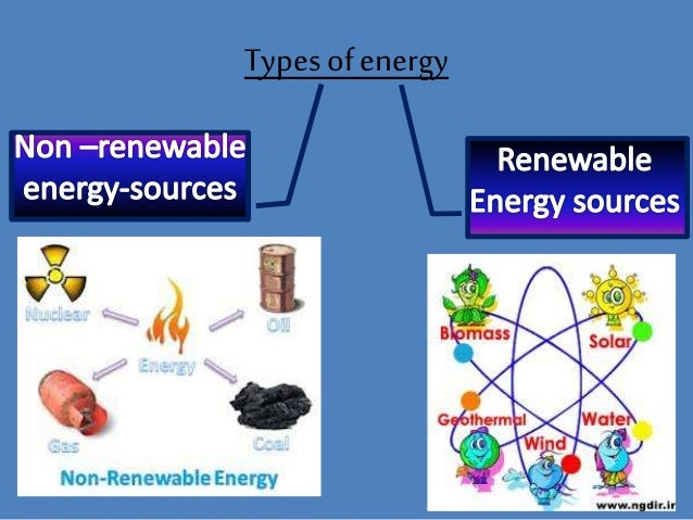 renewable souces of energy Just as there are many natural sources of energy, there are many renewable energy technologies solar is one of the most well known, wind power is one of the most widespread, and hydropower is one of the oldest other renewable technologies harness geothermal energy, bioenergy or ocean energy to produce heat or.
