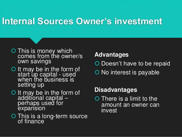 sources of finance in financial management pdf