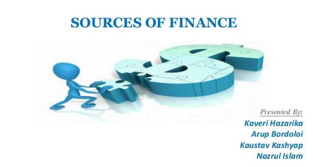 The Internal Sources of Finance