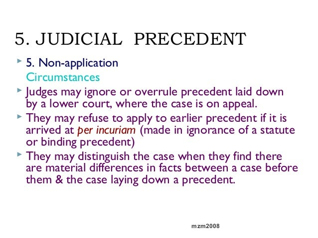 advantages of judicial precedent Free research that covers introduction the concept of a binding precedent is basically a remnant of the common law that originated from the english judicial system, a.