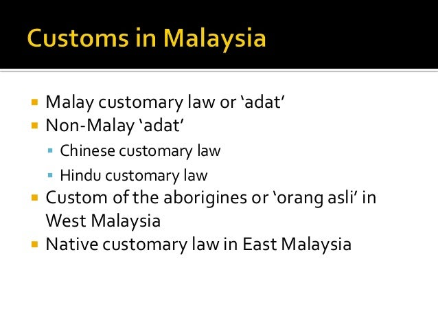 orang asli customary law Source: the malay mail online kuching, oct 13 — native customary rights (ncr) land cannot be returned to the native owners once converted to lease of state land.