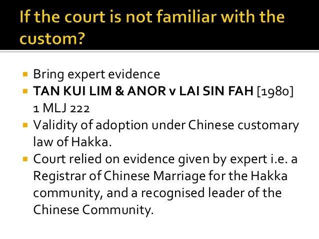 Customary law marriage definition essay
