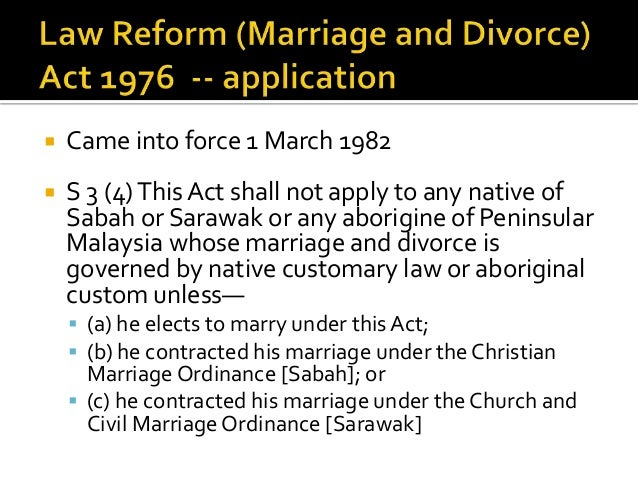 Aboriginal customary law in malaysia