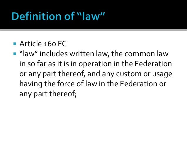 sources of malaysian law Written law the written law is the most important source of malaysian law the written law is divided into 4, namely federal constitution, state constitution.