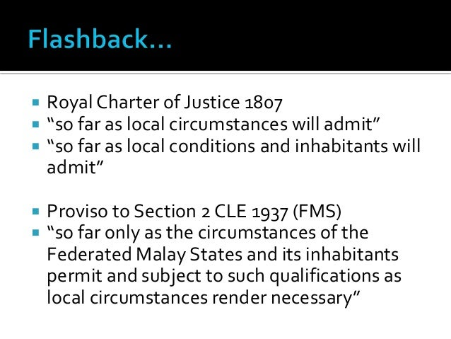 application of english common law in malaysian legal system
