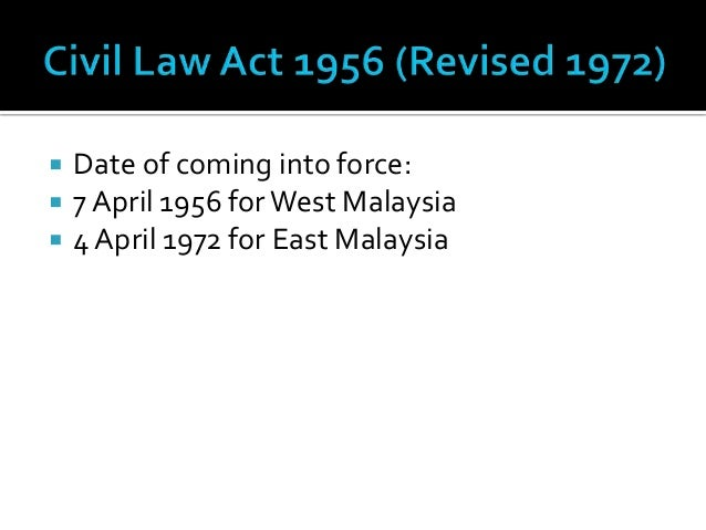 english common law in malaysia There is no self-standing law on privacy in malaysia, though there are several   importation of foreign principles through the reception of english common law.