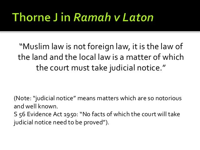 the malaysian context of the islam law A malaysian court has ruled that non malaysia court rules non the appeals court said the term allah must be exclusive to islam or it could.