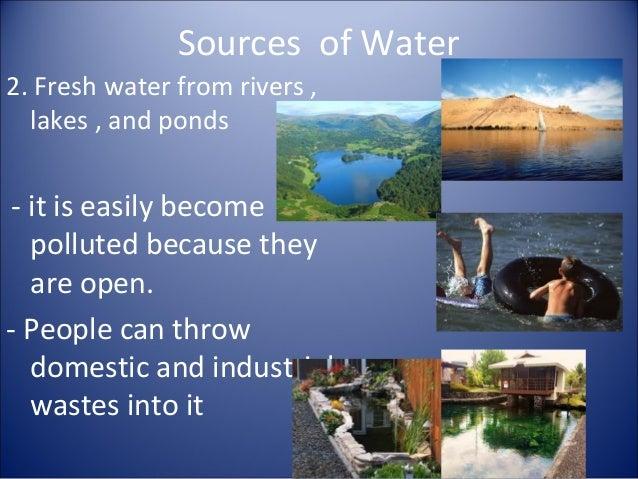 source of water essay