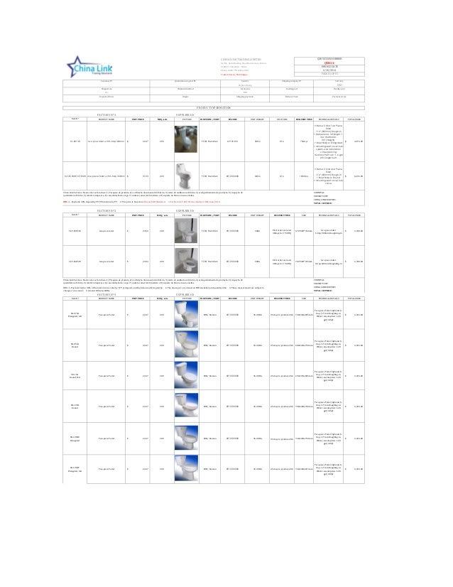 CHINA LINK TRADING LIMITED A1901, Jialin Haoting, Shen Nan Avenue, Futian 518010 - Shenzhen - China Phone: 0086 755 8326-2...